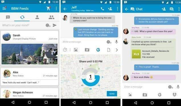 BBM Messages APK Download Latest Version 300.3.2.33