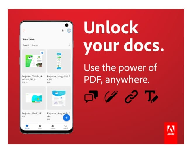 Adobe Acrobat Reader APK 2021 for Android Download Latest Version
