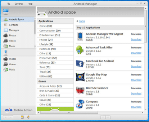 Android Manager 2021 Latest Version Download for Windows 10/8/7