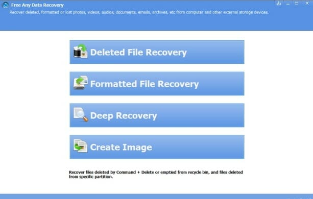 Free Any Data Recovery 2018 Free Download