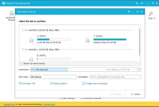 EaseUS Todo Backup 2021 Latest Version Download for Windows 10/8/7