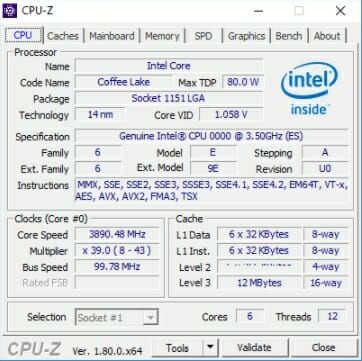Download CPU-Z 2018 Latest Version